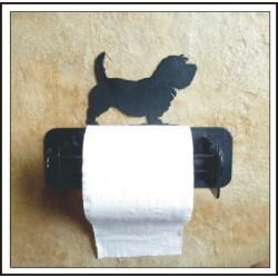 Porte papier toilettes à l'effigie de votre chien préféré