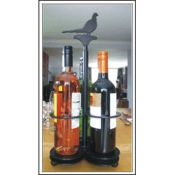 Porte bouteilles à l'effigie de votre chien préféré