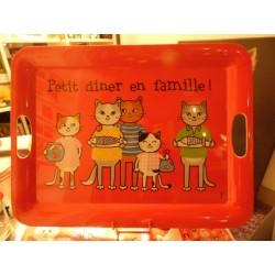 PLATEAU FOX TROT PETIT DINER EN FAMILLE