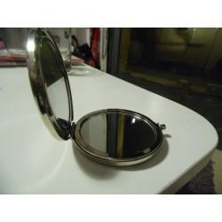 Miroir de poche rottweiler