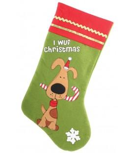Chaussette de Noël spécial chien (modèle 2)