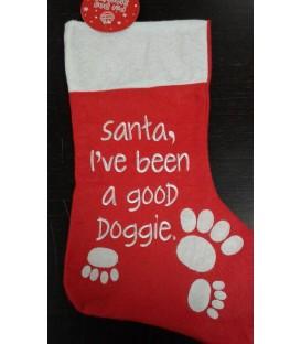 Chaussette de Noël spécial chien (modèle 3)