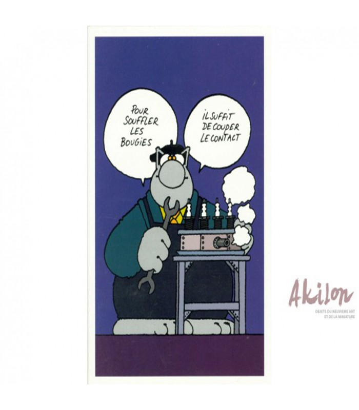 Anniversaire Le Chat Philippe Geluck Souffler Ses Bougies