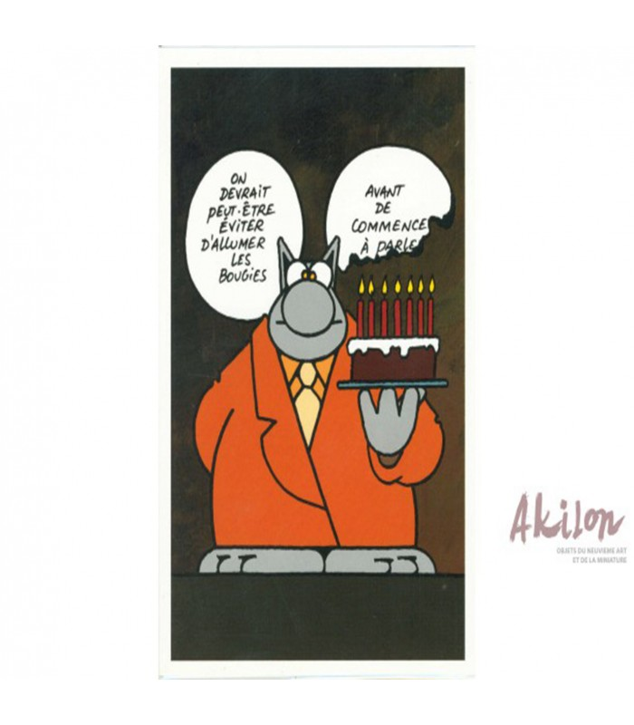 Anniversaire Le Chat Philippe Geluck Parler Avant D Agir