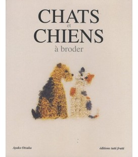 CHATS ET CHIENS A BRODER