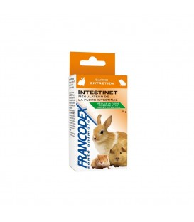 INTESTINET ALIMENT COMPEMENTAIRE REGULATEUR - RONGEUR LAPIN FURET - 10 G