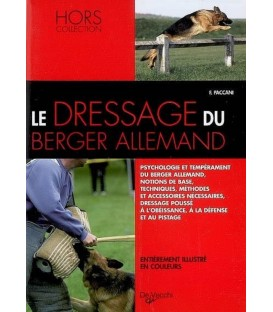 Le dressage du berger allemand - collection chiens de race