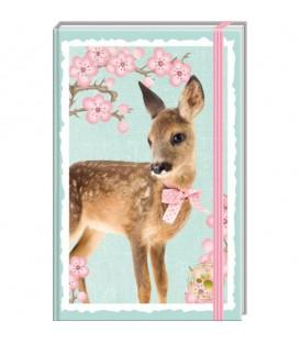 Carnet de post-it sur le thème des animaux sauvages