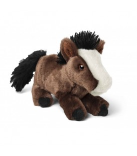 "Peluche ""Big Oak"" d'un cheval allongé"