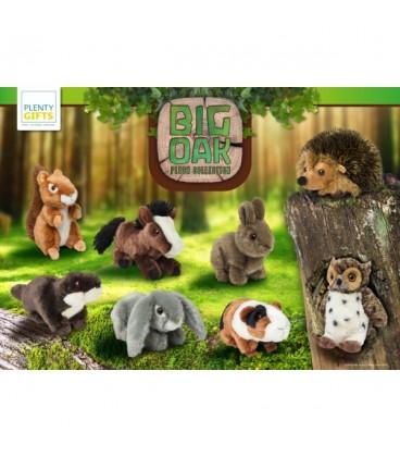 """Peluche """"Big Oak"""" d'un écureuil roux"""