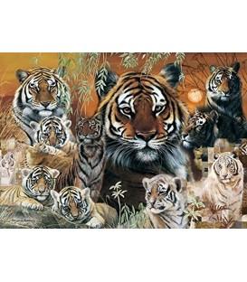 "Puzzle ""LES TIGRES"" - 1000 ¨PIECES"