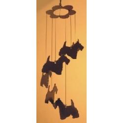 Carillon à vent sur le thème du chat