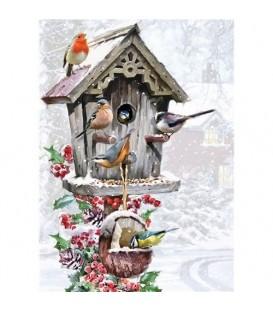 """Puzzle """"des oiseaux l'hiver"""" - 1000 ¨PIECES"""