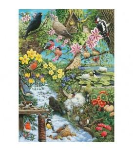 """Puzzle """"Les oiseaux dans la forêt"""" - 1000 ¨PIECES"""