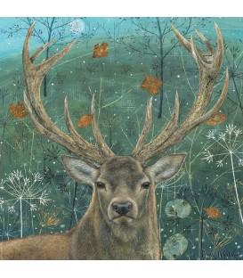 """Puzzle """"Un cerf en automne"""""""