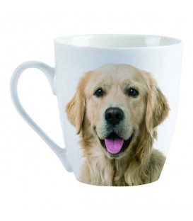 "MUG ""J'AIME LES GOLDEN RETRIEVERS"""