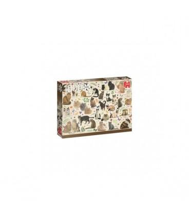 """Puzzle """"Les félins"""" - 1000 ¨PIECES"""
