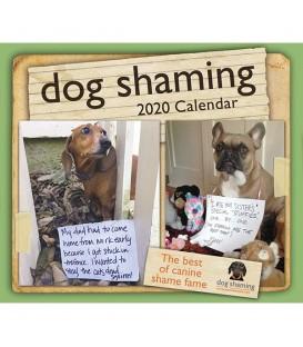 """Calendrier éphéméride """"Les exploits de nos chiens"""" 2020"""