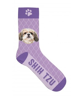 Chaussettes shih tzu - taille 36/41