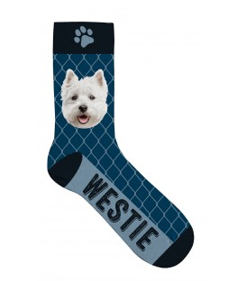 Chaussettes westie - taille 36/41