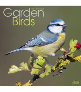 Calendrier Oiseaux du jardin 2021