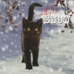 """10 Cartes Noël """"chaton noir"""" et leurs enveloppes"""