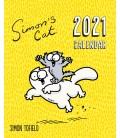 Calendrier de bureau - Les chats de Simon 2021