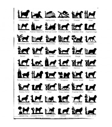 Grande girouette l'effigie de votre race canine préférée