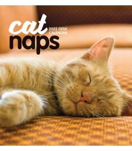 Calendrier de bureau Siestes de chats 2022