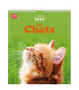CALENDRIER 2022 CHATS